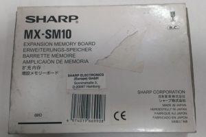 MX-SM10 EXPANSION MEMORY BOARD